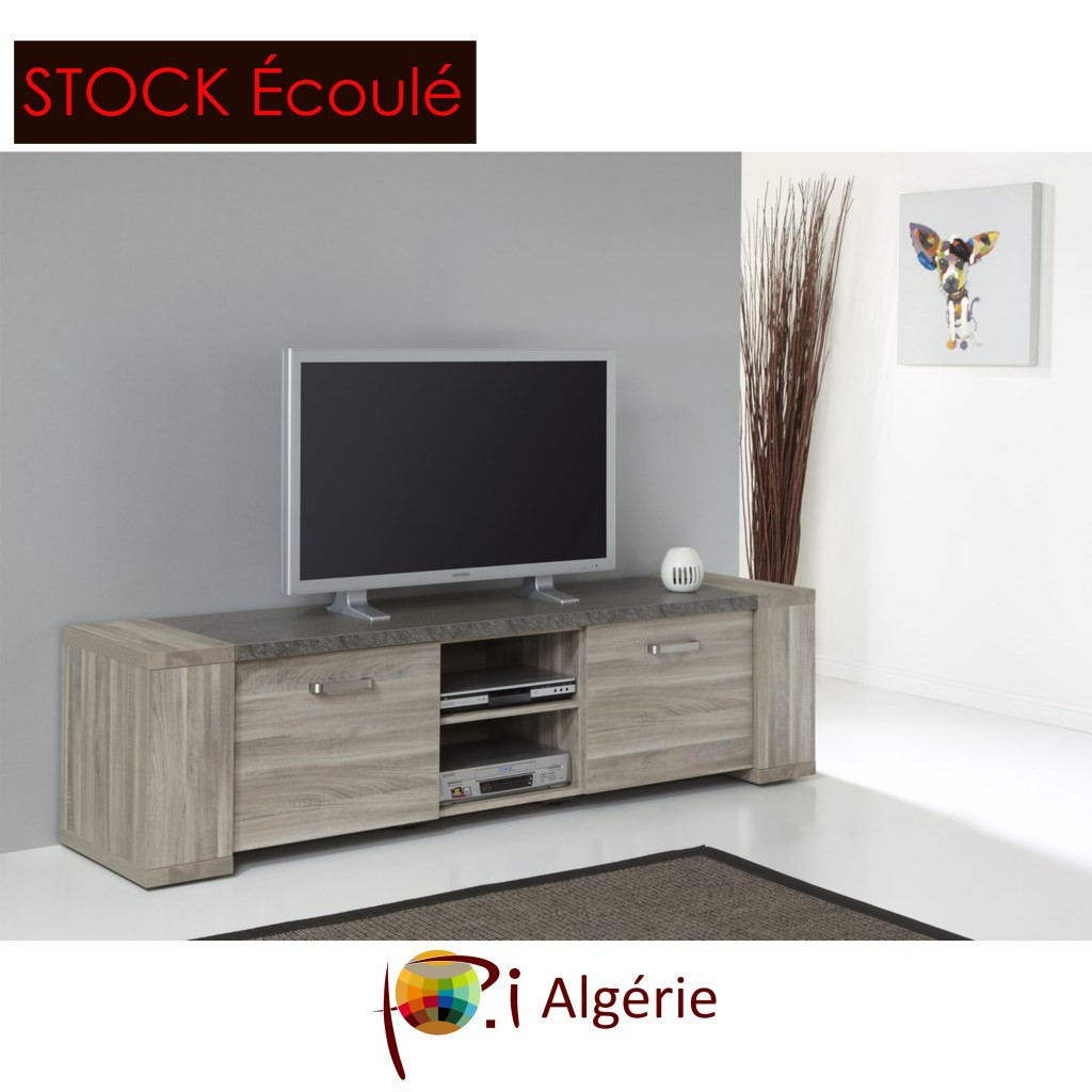Pi algerie meuble t v pi algerie for Meuble tv stone
