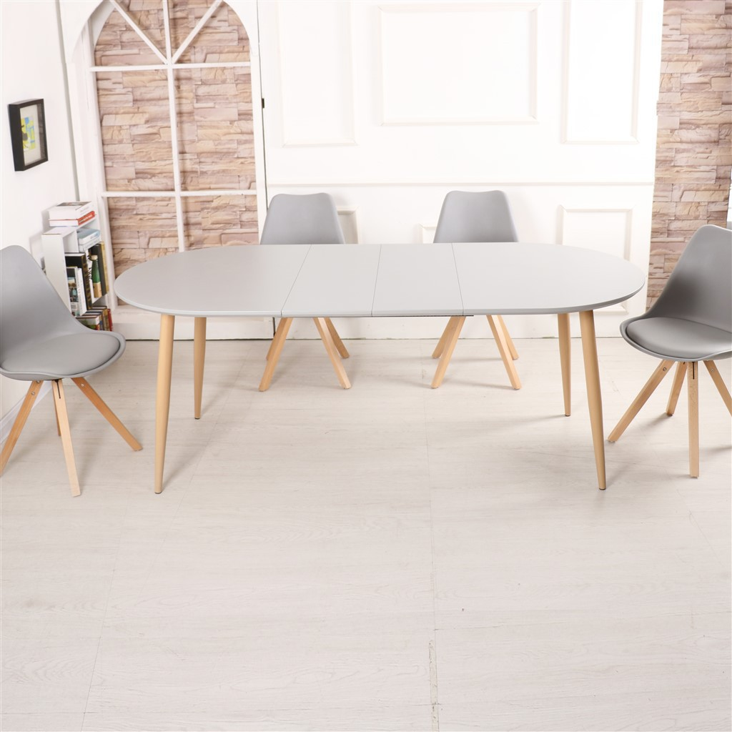 Table salle a manger extensible 140/200x90x76 cm