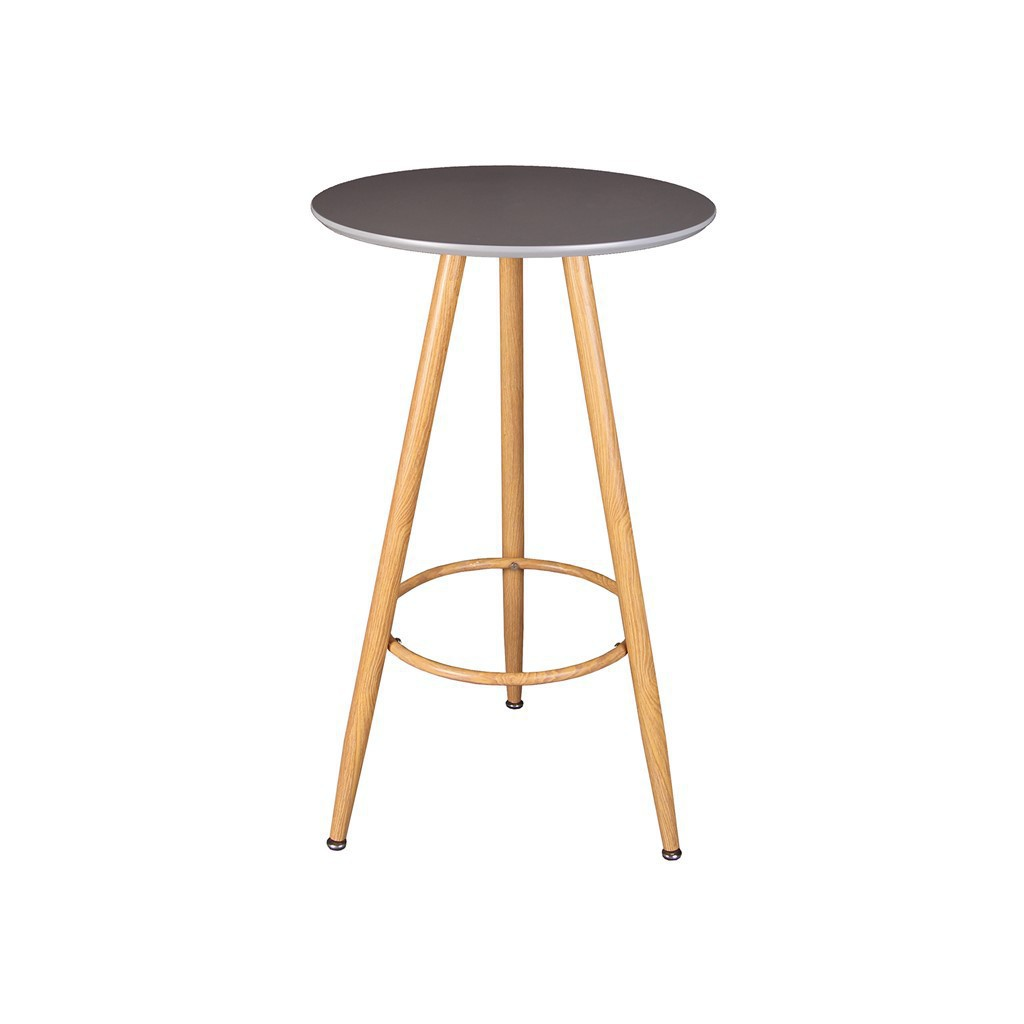Table haute bar D60cm, H 103cm GRIS